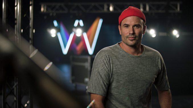 Martin Stenmarck competing in Melodifestivalen 2019