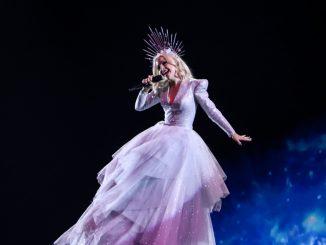 Kate Miller-Heidke rehearsal Australia Eurovision 2019
