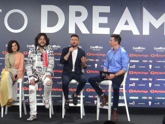 Sergey Lazarev Eurovision Lazarev press conference