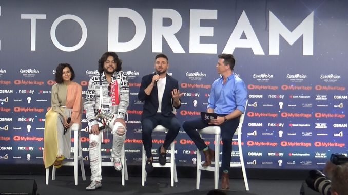 Sergey Lazarev Eurovision Lazarev press conference