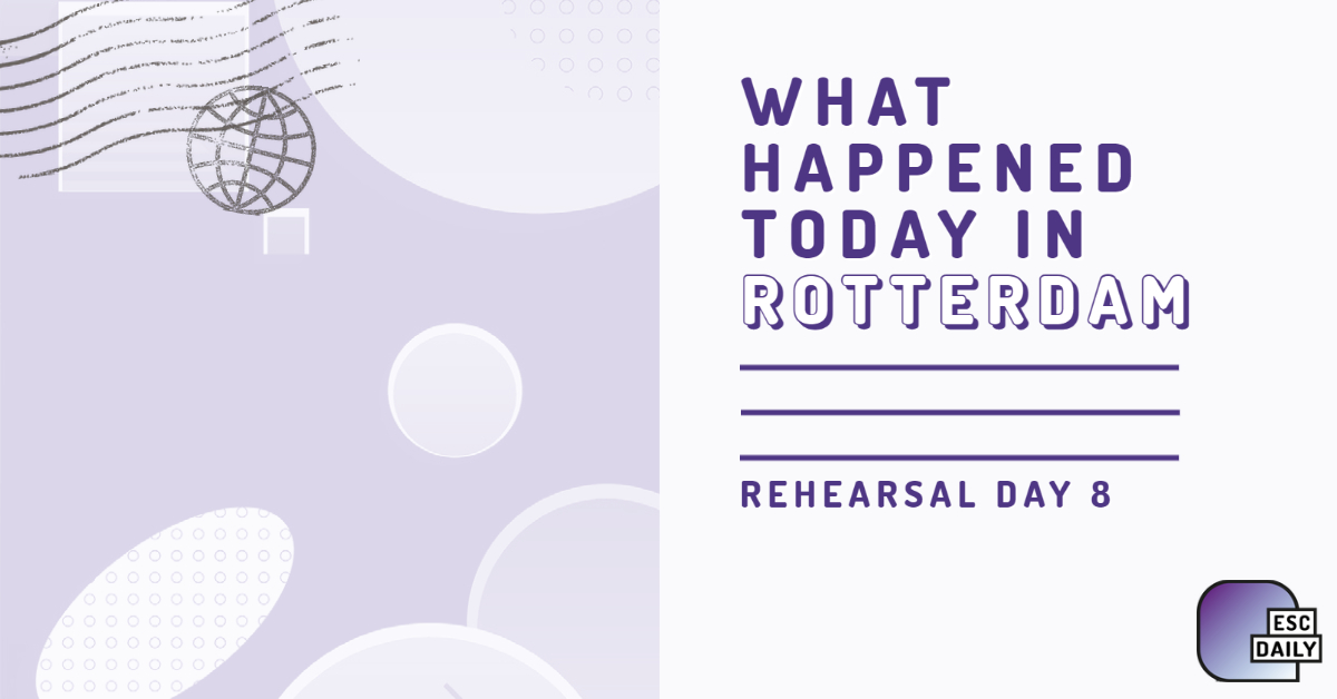 What happened today in Rotterdam: Day Eight